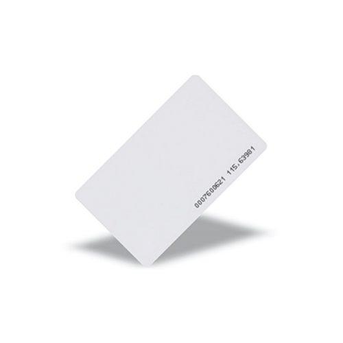 125khz TK4100 White PVC RFID Card