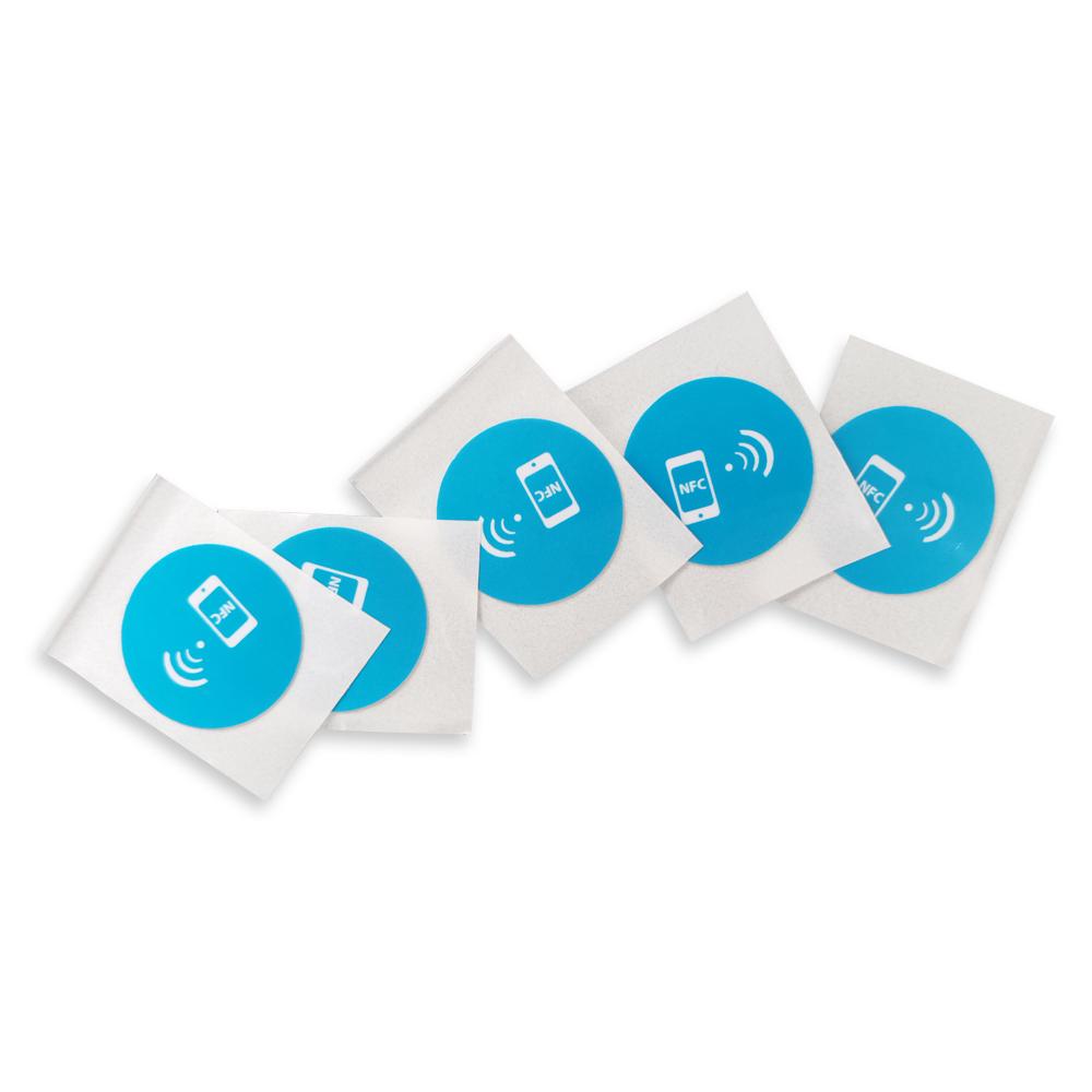 Custom Print Waterproof NFC Paper Sticker