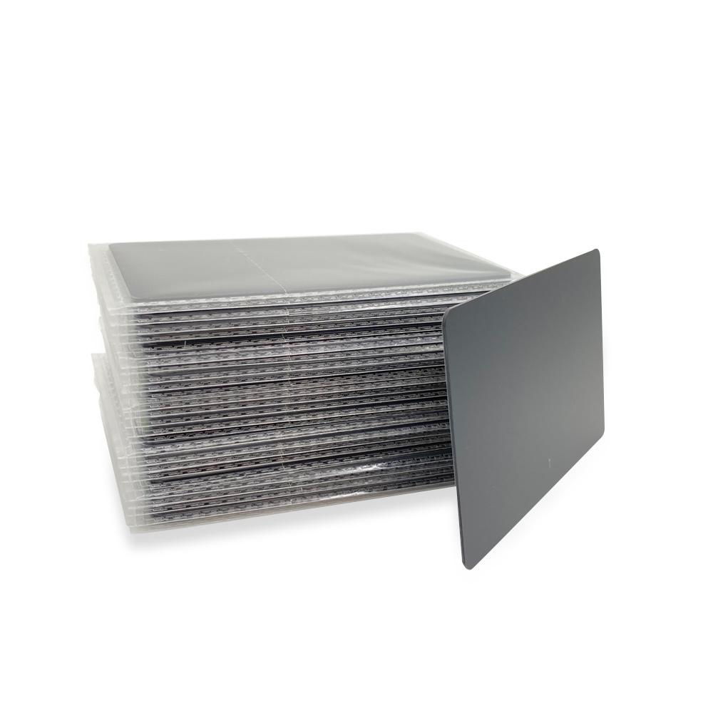 NTAG213 Plastic Matte Black NFC Card
